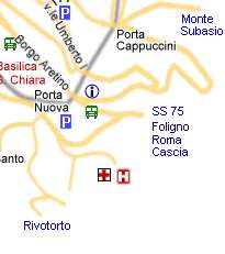 Assisi Taxi Bus Map Assisi Online Taxi Bus Map Assisi Umbria Italy